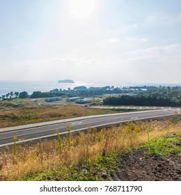 Korea Jeju Island Highway