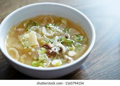 Korean beef soup