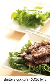 Korean cuisine, Beef barbecue Yakiniku