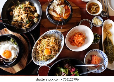 Korean cuisine has evolved through centuries of social and political change. Originating from ancient agricultural and nomadic traditions in the Korean peninsula and southern Manchuria.