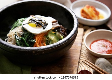 Korean Dish Bibimbap