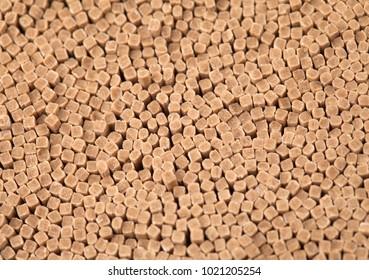 Korean dry uncooked buckwheat noodles background
