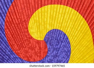 Korean fan pattern