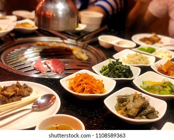 Korean Food Background :  Korean Pork BBQ