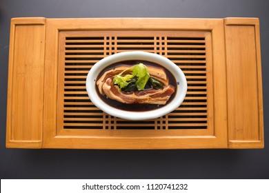 Korean food is called dwaeji yangnyeom galbi