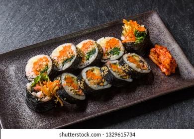 Korean food (gimbap,kimbap)