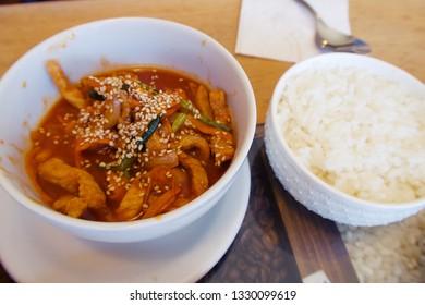 Korean food, Gochujang Bulgogi