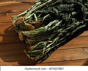 Korean food ingredient dried radish greens, Siraegi