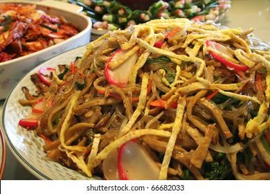 Korean Food. Jabche