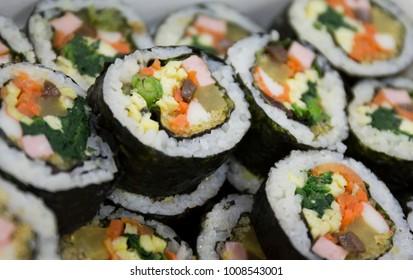 Korean food - Kimbap