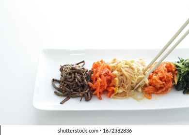 Korean food, marinated vegetable for healthy side dish