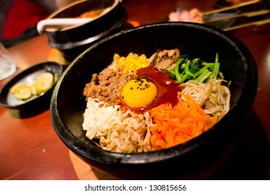 Korean food, Mixed Rice Bibimbab