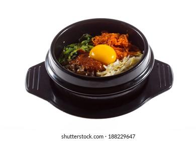 Korean food, Mixed Rice Bibimbab