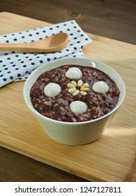 Korean food Red bean porridge