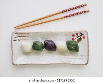 Korean food Songpyeon, half-moon-shaped rice cake
