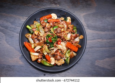 Korean food - teriyaki chicken