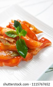 korean food, tteokbokki