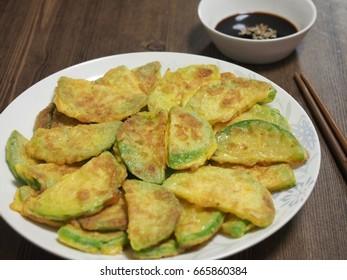 Korean food,Hobak jeon