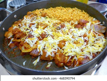 Korean Fried Chicken with cheese