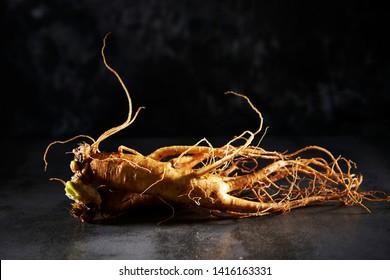 Korean ginseng root, Chinese herbal medicine