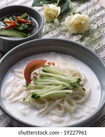 Korean Gruel and Noodle