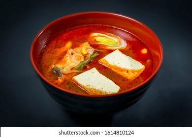 Korean Halibut Hot Soup I A Red Bowl
