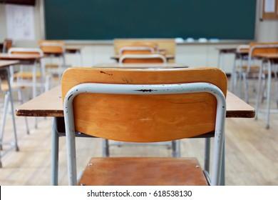 Empty School Desk Images, Stock Photos & Vectors | Shutterstock