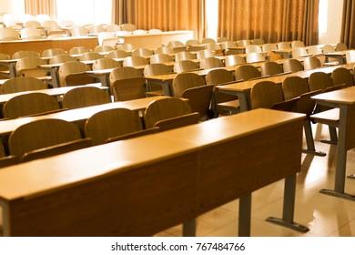 Korean High school classroom