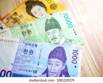 Korean Money Won