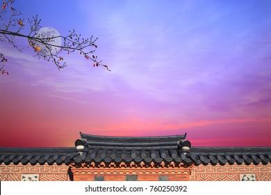 Korean New Year's Day Background