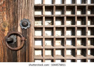 Korean Old Door Knocker And Key