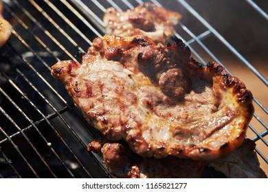 Korean pork BBQ