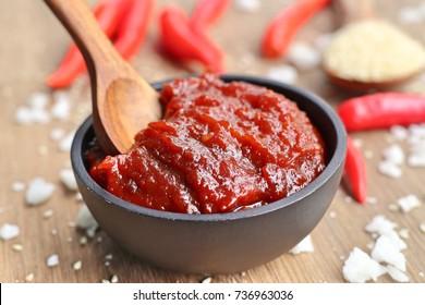 Korean red chili sauce - kochujang