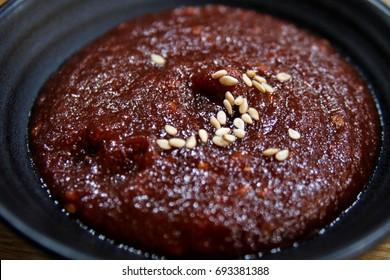 Korean red pepper gochujang