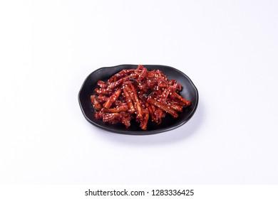 korean salted dried slices of daikon