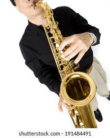 Korean saxophone player