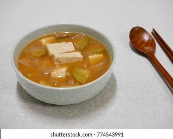 Korean Soybean Paste Stew, miso soup