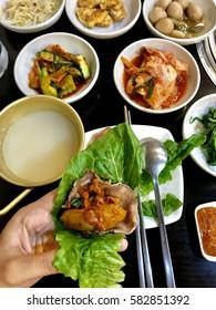 Korean style barbecue.