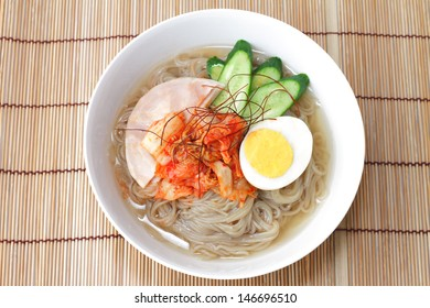 korean style cold noodles