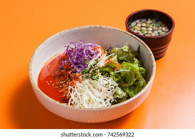 korean style cold spicy noodle