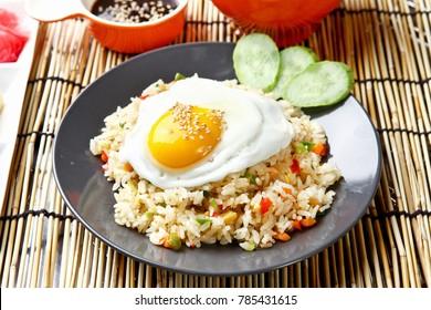 korean style fried rice
