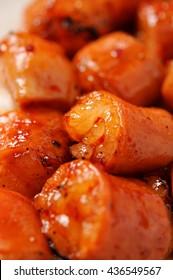 korean style grilled beef tripe