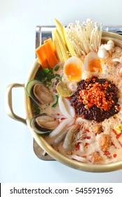 Korean style Hotpot,Spicy Hotpot