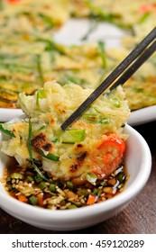 korean style pancake buchimgae