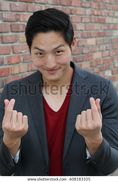 Asian hand signs