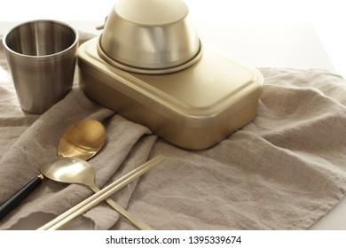 Korean tableware for life style image