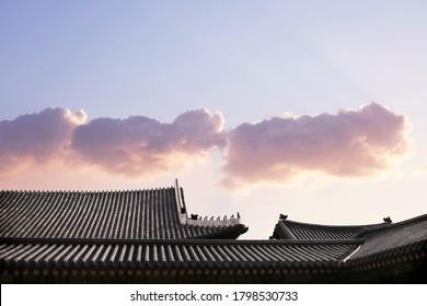Korean tradition, Traditional houses and buildings, korean landmark - Shutterstock ID 1798530733