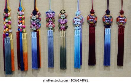 Korean traditional accessories, norigae