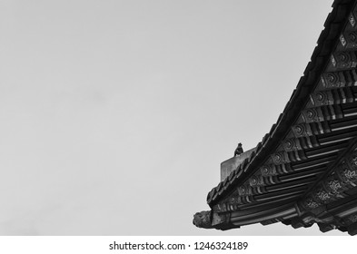 Korean traditional architecture eaves