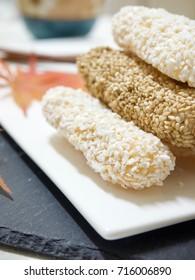 Korean traditional cookie yugwa